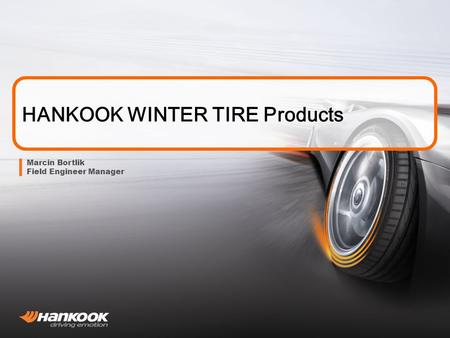HANKOOK WINTER TIRE Products
