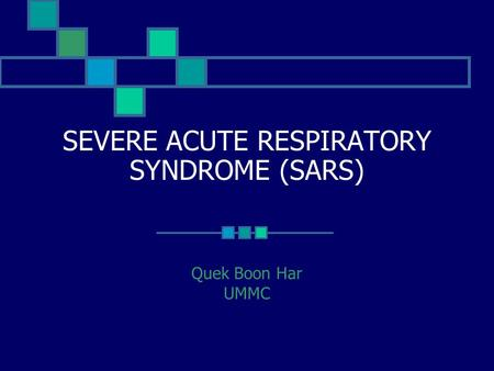 an introduction to the issue of sars serve acute respiratory syndrome Severe acute respiratory syndrome (sars) is now a global public health threat   health issues that have arisen during this outbreak of sars in hong kong  of  an appropriate and well-fitted facemask, and the introduction of infection control.