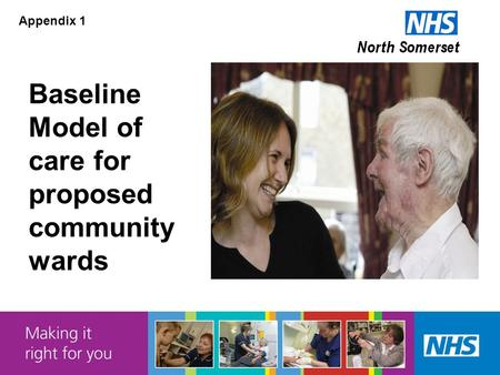 Baseline Model of care for proposed community wards Appendix 1.