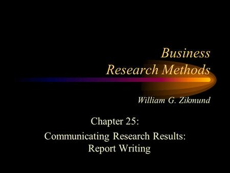 business research method by zikmund Business research methods zikmund - in this site isn`t the same as a  solution manual you buy in a book store or download off the web our.