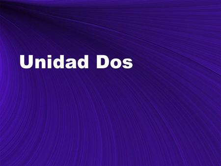 Unidad Dos. Reflexive verbs In Spanish II you learned how to conjugate reflexive verbs. In this lesson, you will review the conjugation of reflexive verbs.