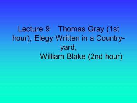 william blake marxism William blake the last book thompson finished was witness against the beast: the making of e p thompson: marxism, humanism, and history toronto.