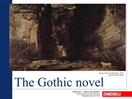 The Gothic novel Performer - Culture & Literature