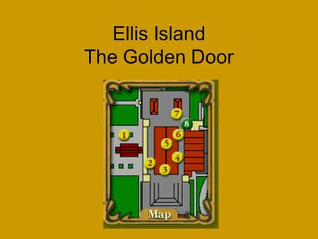 Ellis Island The Golden Door