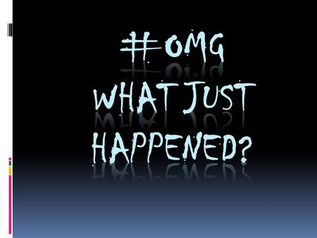 "WITHOUT SPEAKING!!!… We are going to focus on the previous question - ""#OMG, What just happened? - through a silent board discussion. While classmates."