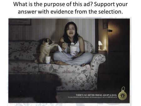 What is the purpose of this ad? Support your answer with evidence from the selection.
