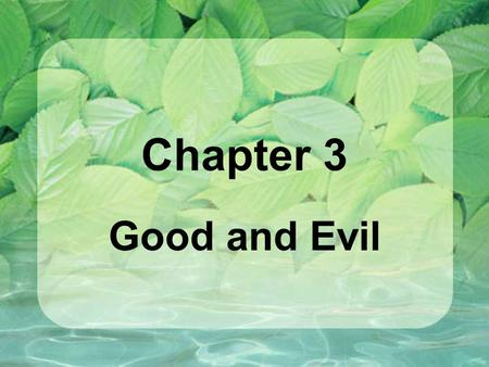 Chapter 3 Good and Evil. Vocabulary sin – to turn away from God; a free and willful turning away from God's law and love. sin of commission - sin through.