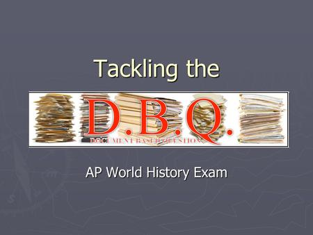 Tackling the AP World History Exam. COT: Post-Classical China 600-1450 ► In Post-Classical China (600-1450) the mandate of heaven remained a way to determine.