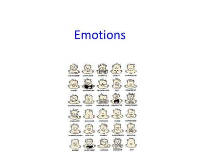 Emotions. States of Mind Reasonable Mind (Left Brain) Emotional Mind (Right Brain) Wise Mind Using both reason (fact) and emotion. Facts Information Other.