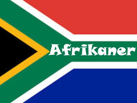 Afrikaner. History The Dutch colonist settled at the Cape in 1652 and over the next 200 years the British, French and German joined them. They first settled.