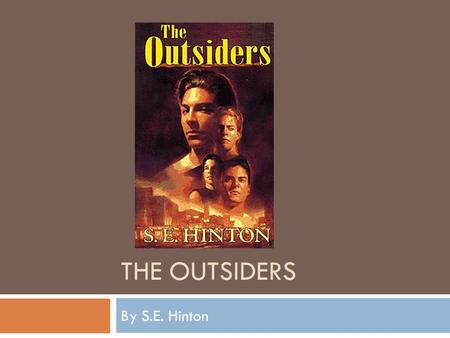 An introduction to the life of s e hinton