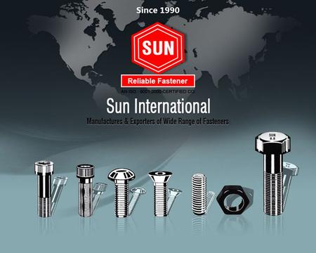 "SUN INTERNATIONAL started the manufacturing of cold forged BOLTS under the brand name ""SUN. Because of consumer acceptance of our quality we kept adding."