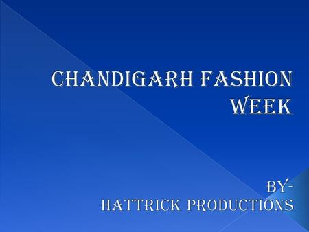 Hallmark of fashion Branding Turnout Platform for freshers Expertise talent.