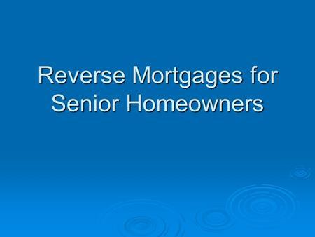 Company Conf... Reverse Mortgage In Hindi