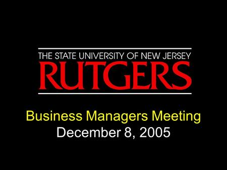 Business Managers Meeting December 8, 2005. NIH's Electronic Receipt Goal By the end of May 2007, NIH plans to: Require electronic submission through.