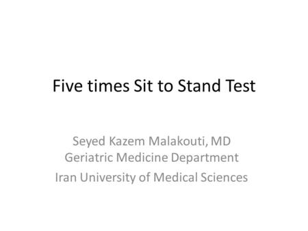 5 times sit to stand test pdf