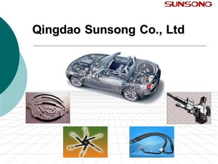 Qingdao Sunsong Co., Ltd. Table of Contents Sunsong's Products Sunsong's Markets Sunsong's Concept Sunsong's Certifications Sunsong's Design & Test Capability.