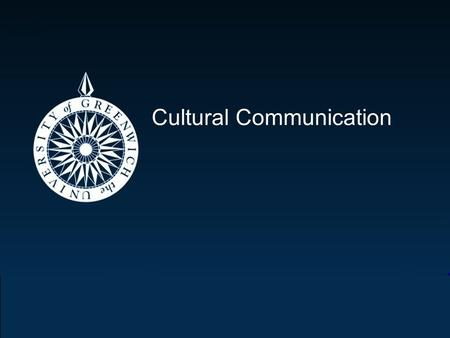 Cultural Communication. Kirsteen Coupar Cultural communication differences Following are some general communication and language guidelines you may find.