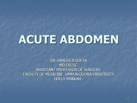 role of laparoscopy in acute abdomen nursing essay The case study is on ajay mahajan,an 18 year old student who has been diagnosed with acute appendicitis  deductive essay nursing  by open laparoscopy.