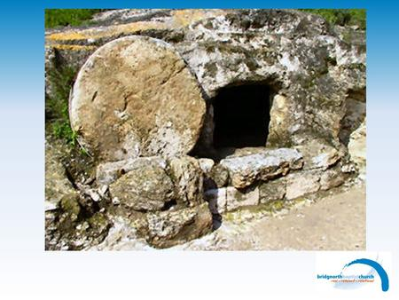 There's an empty tomb There's no need for grave clothes.