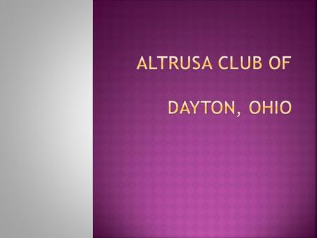 Welcome to Altrusa Auction 2012  Today we are raising funds to support projects in our community  Thank you for helping us!