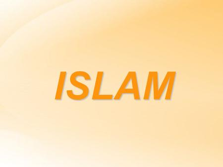 ISLAM. Islam Islam is a monotheistic and Abrahamic religion articulated by the Qur'an. Muslims believe that God is one and incomparable and the purpose.