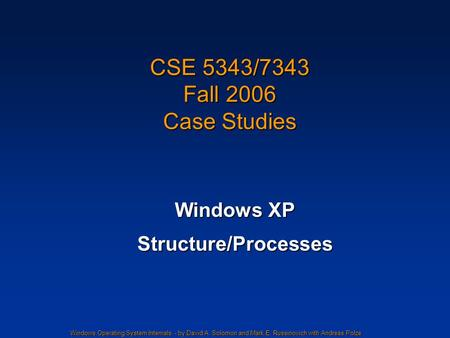case study on windows xp