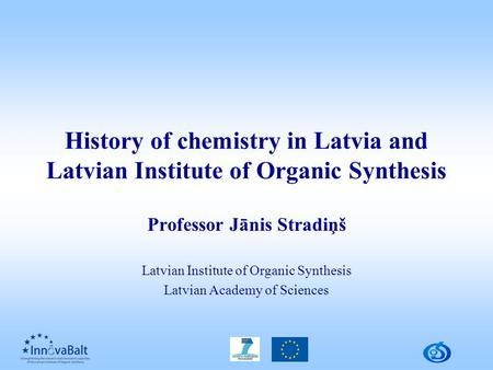 Brief History of Organic Chemistry