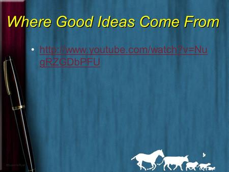 where good ideas come from essay