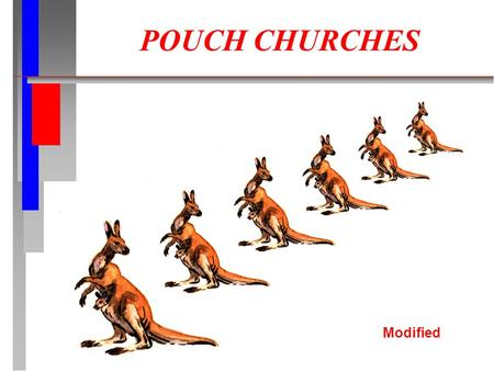 POUCH CHURCHES Modified. What Are You Aiming For? What fruit do you hope to see as a result of your ministry?