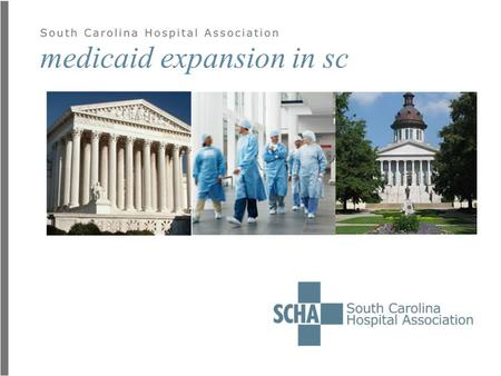 Medicaid expansion in sc. today's talk  Background  Politics of expansion  Impact on People  Impact on Business  Impact on the Economy  Final Thoughts.