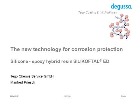 The new technology for corrosion protection