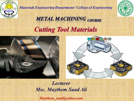 Metal Machining Course
