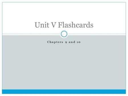 Chapters 9 and 10 Unit V Flashcards. The program of government subsidies favored by Henry Clay and his followers to promote American economic growth and.