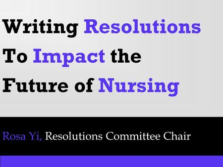 the future of nursing the impact Nursing input and political power can impact that flow to provide effective health care programs and services 4 vision for the future of nursing subject.
