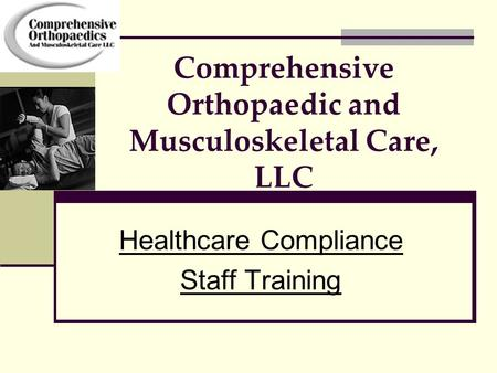 Comprehensive Orthopaedic and Musculoskeletal Care, LLC