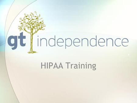 HIPAA Training. What is HIPAA? The Health Insurance Portability and Accountability Act (HIPAA) was enacted in 1996. It provides the ability to transfer.