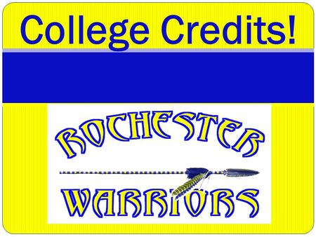 College Credits!. Goals for Tonight Provide important information on dual credit opportunities, including: Running Start (traditional) Advanced Placement.