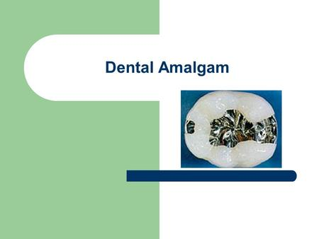 Dental Amalgam.