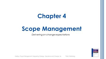 Chapter 4 Scope Management