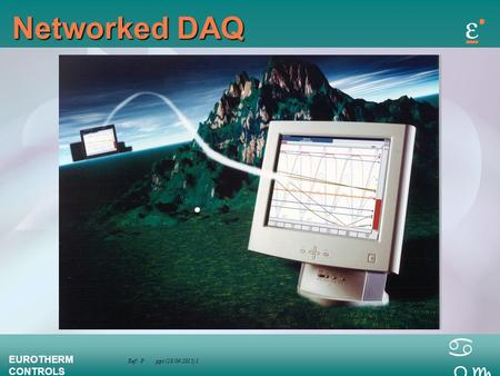 Ref: P.ppt (28/04/2015) 1 EUROTHERM CONTROLS a bc Networked DAQ.