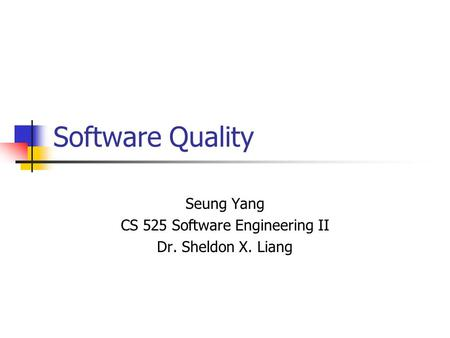 software quality characteristics Now lets take a look at software quality factors these set of factors can be easily explained by software quality triangle the three characteristics of good application software are :.