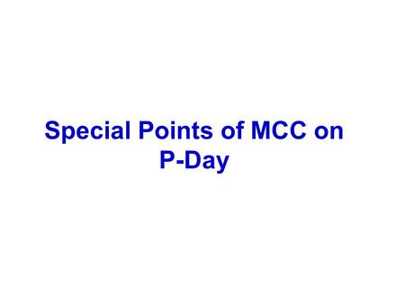 Special Points of MCC on P-Day. Regulation of plying of vehicles on poll day [ECI's No. 437/6/96-PLN-III dt. 16.01.1996 & dated 24.3.2007 and No. 437/6/2006.