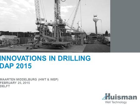 Innovations in drilling DAP 2015