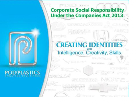 Corporate Social Responsibility Under the Companies Act 2013.