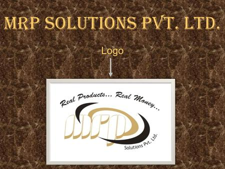 MRP SOLUTIONS PVT. LTD. Logo.