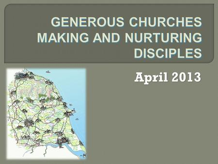 April 2013. In 2014 we plan to approach the funding of our mission in a different way. Instead of each Deanery being allocated an amount of parish share.