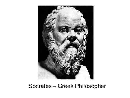 Socrates – Greek Philosopher. Socrates and young man walking towards the river.