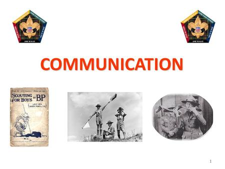 1 COMMUNICATION. 2 Communication Learning Objectives. We will: – Relate the experience of the Communication Traps game to basic principles of communication.