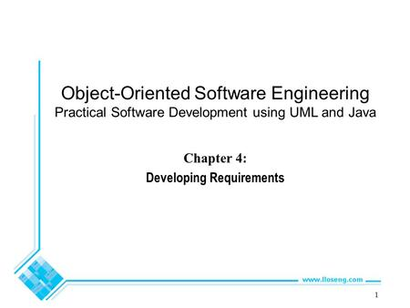 Chapter 4: Developing Requirements